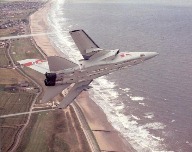 F3 over Lincs coast