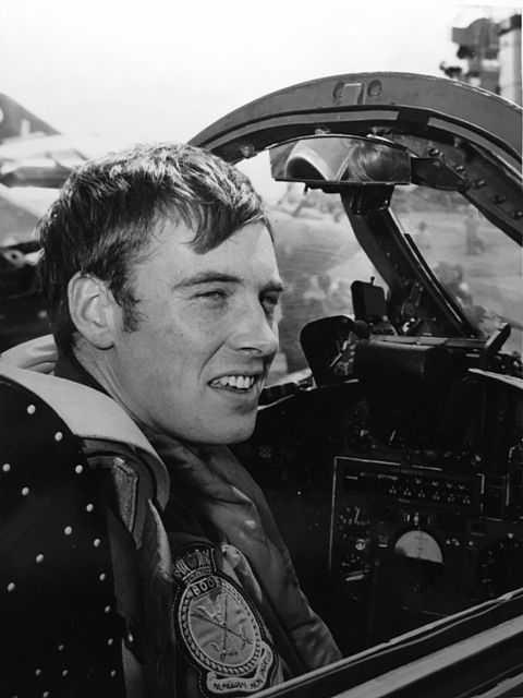 Steve Kershaw cockpit photo
